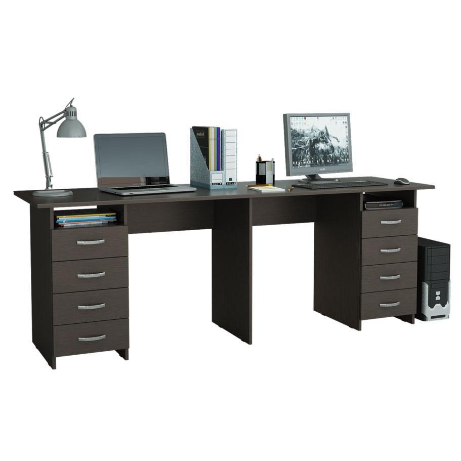 ᐈДвухтумбовый письменный стол для двоих детей Тандем-3 ...